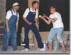 Photo of Larry Epstein, Robert Byron Markle, and Jeff Chacon in Scene from a Trailer Park