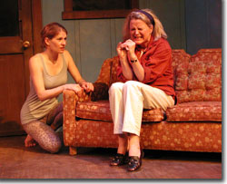 (Left to right) Karen LaMoureaux as Cordelia and Martha Harmon Pardee as Diana