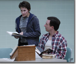 Kathleen McCall as Dana and Brad Heberlee as Brian