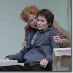 Caitlin O'Connell as Erica and Kathleen McCall as Dana