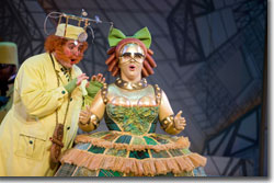 Neal Ferreira as Spalanzani and Pamela Armstrong as Olympia