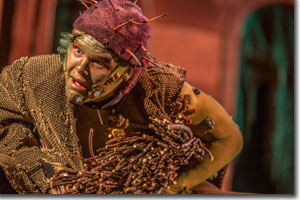 Joshua Archer as Caliban