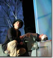 Photo of Step Pearce in Paula Vogel's The Closest I've Been to War