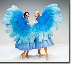 (Left to right) Amy Bodnar and Kate Marilley as Betty and Judy Haynes