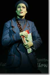 Photo of Stephanie J. Block as Elphaba