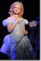 Photo of Kendra Kassebaum as Glinda